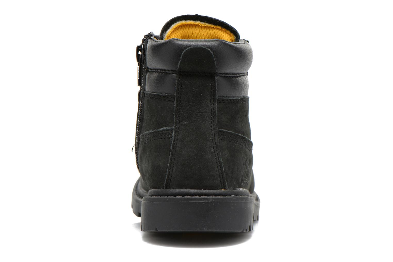 Bottines et boots Caterpillar Colorado Plus Zip Noir vue droite