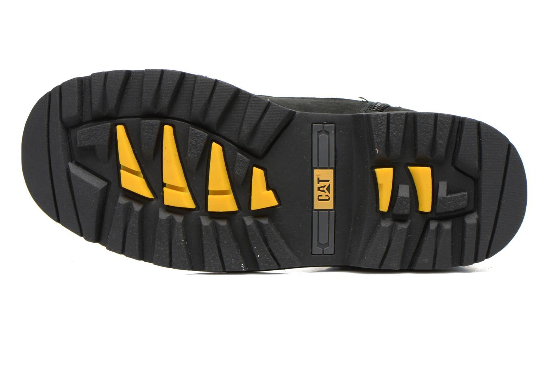 Bottines et boots Caterpillar Colorado Plus Zip Noir vue haut