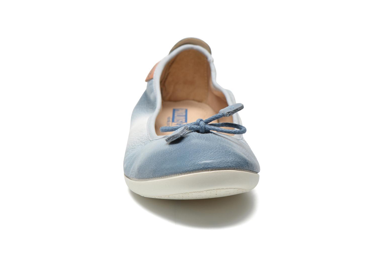 Ballerinas Pikolinos Bora Bora W7E-DG2513 blau schuhe getragen