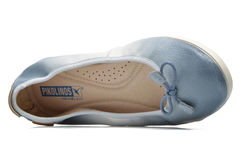 Ballerinas Pikolinos Bora Bora W7E-DG2513 blau ansicht von links