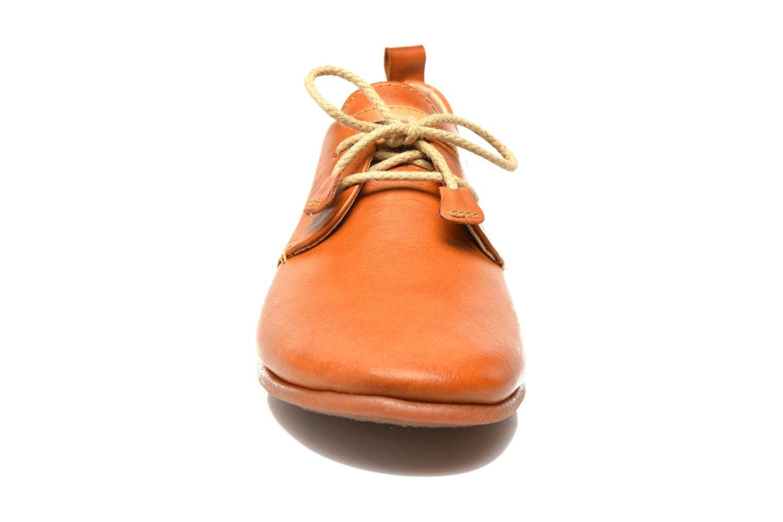 Schnürschuhe Pikolinos Calabria 917-7123 braun schuhe getragen