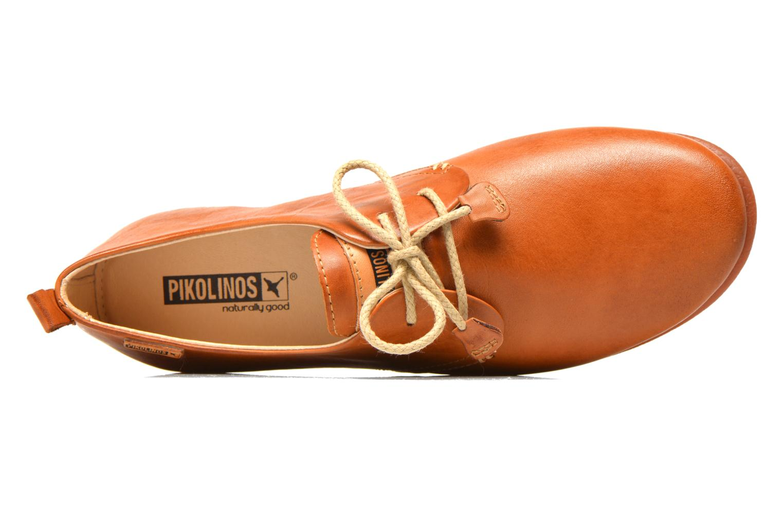 Chaussures à lacets Pikolinos Calabria 917-7123 Marron vue gauche