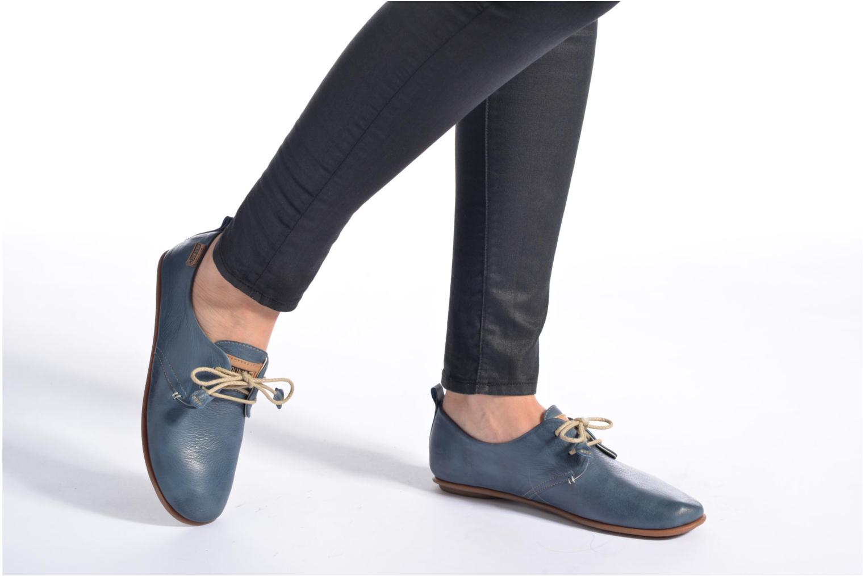 Zapatos con cordones Pikolinos Calabria 917-7123 Gris vista de abajo