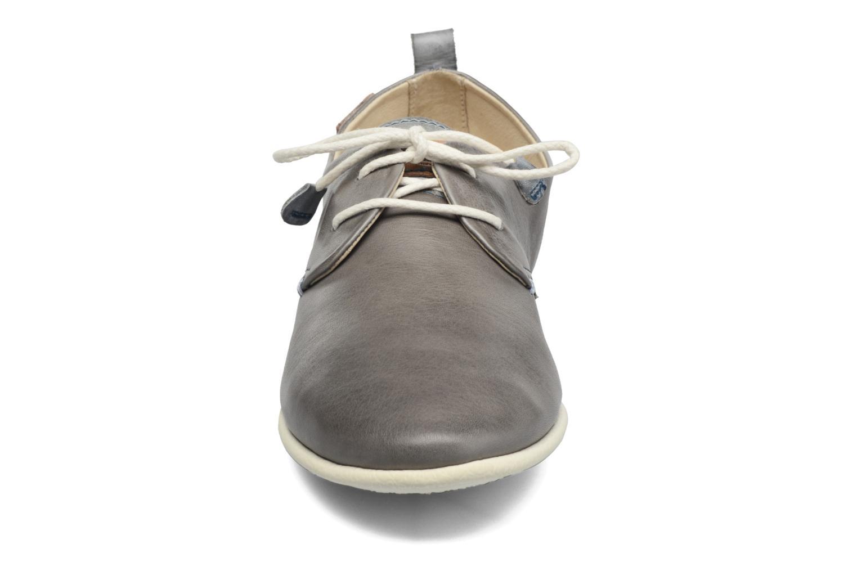 Schnürschuhe Pikolinos Calabria 917-7123 grau schuhe getragen