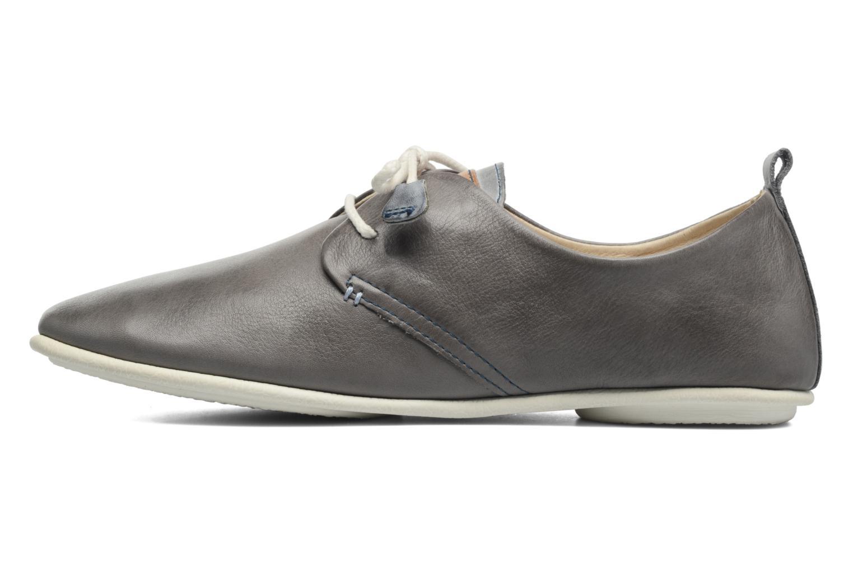 Chaussures à lacets Pikolinos Calabria 917-7123 Gris vue face