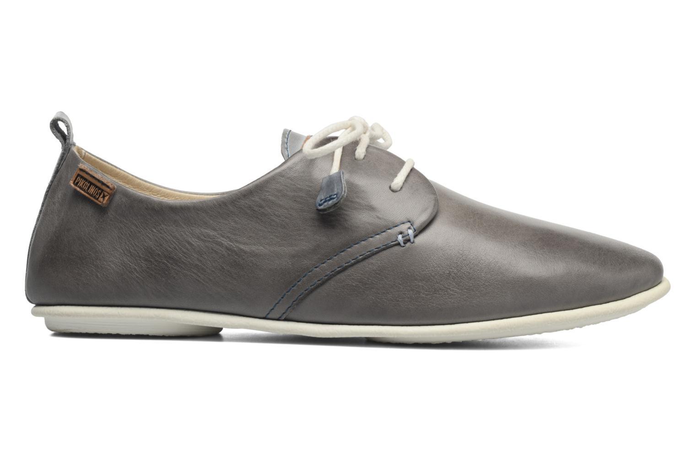 Zapatos con cordones Pikolinos Calabria 917-7123 Gris vistra trasera