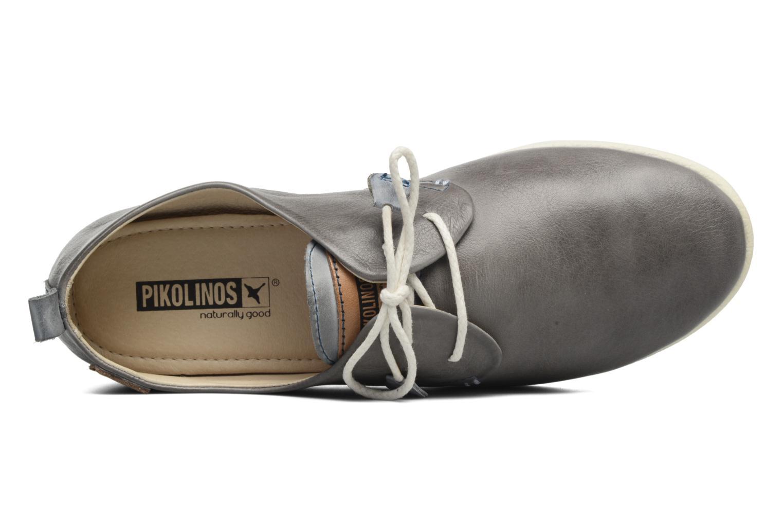 Zapatos con cordones Pikolinos Calabria 917-7123 Gris vista lateral izquierda