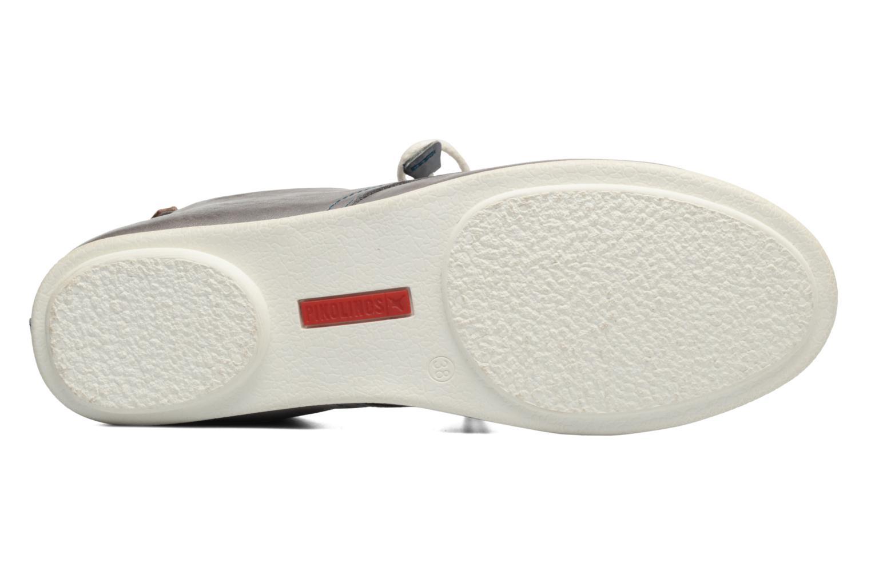 Zapatos con cordones Pikolinos Calabria 917-7123 Gris vista de arriba