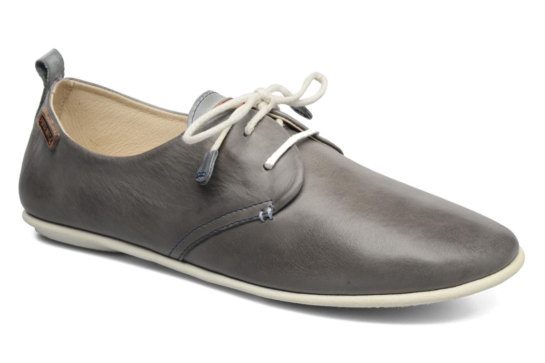 Zapatos con cordones Pikolinos Calabria 917-7123 Gris vista de detalle / par