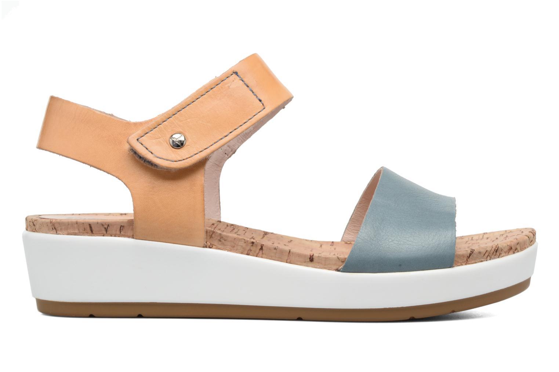 Sandales et nu-pieds Pikolinos Mykonos W1G-0758 Bleu vue derrière