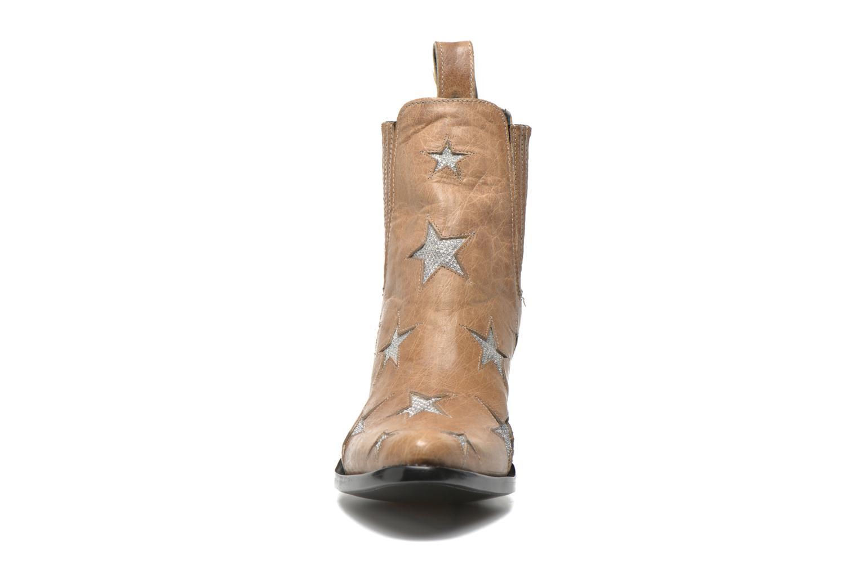 Stiefeletten & Boots Mexicana Circus beige schuhe getragen