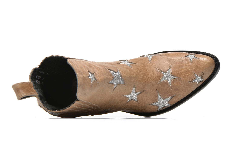 Stiefeletten & Boots Mexicana Circus beige ansicht von links