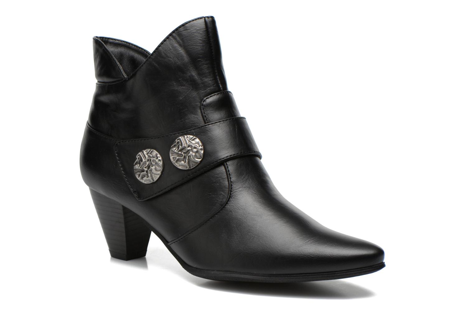 Ankle boots Enza Nucci Maeva Black detailed view/ Pair view