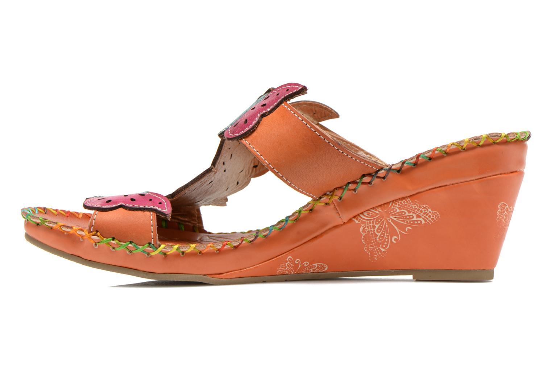 Clogs & Pantoletten Laura Vita Varia orange ansicht von vorne
