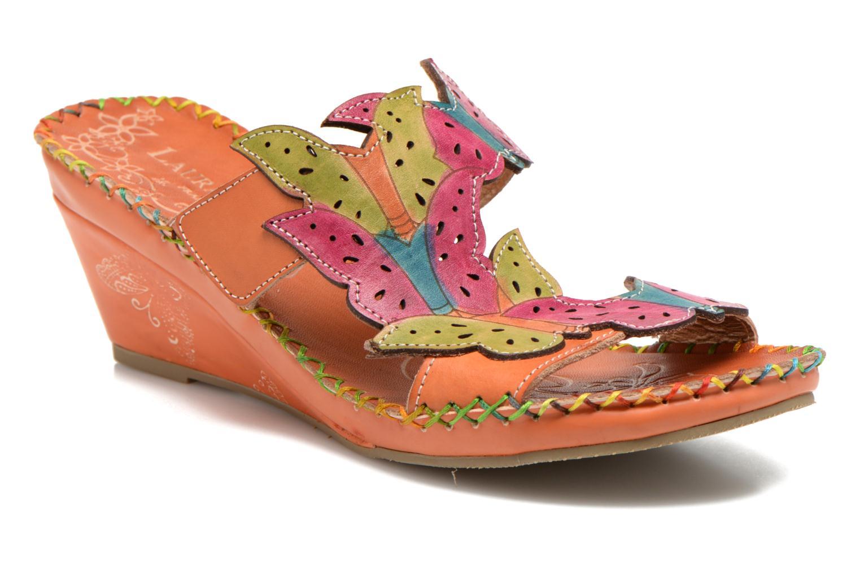 Clogs & Pantoletten Laura Vita Varia orange detaillierte ansicht/modell