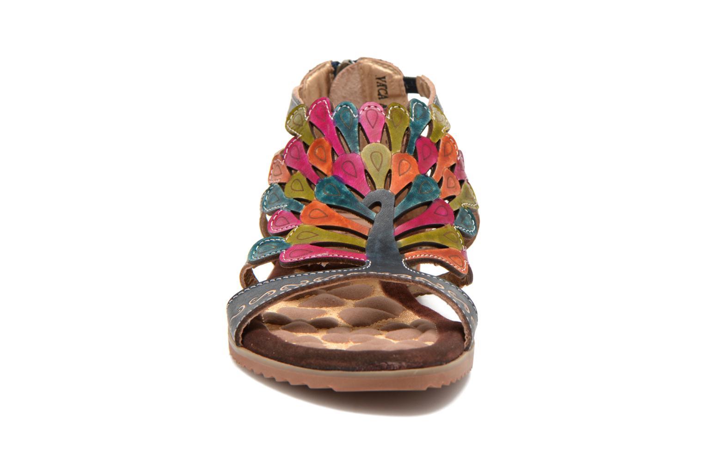 Sandalen Laura Vita Vaca mehrfarbig schuhe getragen