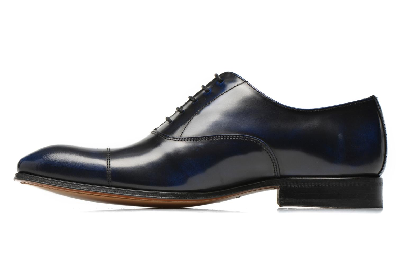 Zapatos con cordones Marvin&Co Parado Azul vista de frente