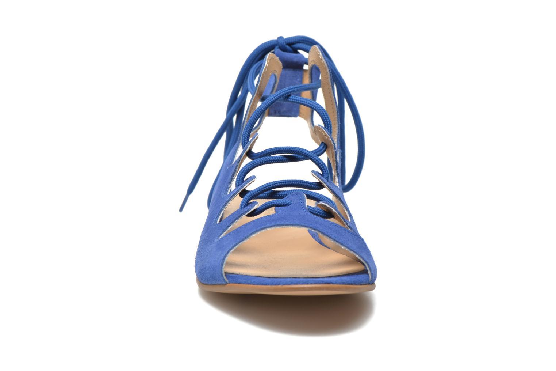 Sandales et nu-pieds Georgia Rose Gilize Bleu vue portées chaussures