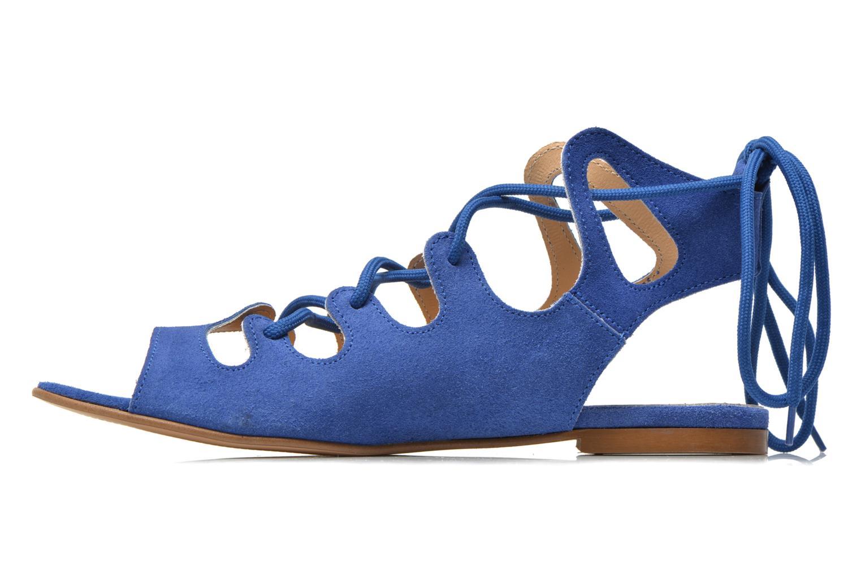 Sandalen Georgia Rose Gilize blau ansicht von vorne