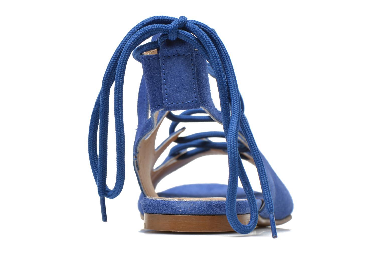 Sandalen Georgia Rose Gilize blau ansicht von rechts