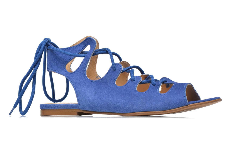 Sandalen Georgia Rose Gilize blau ansicht von hinten