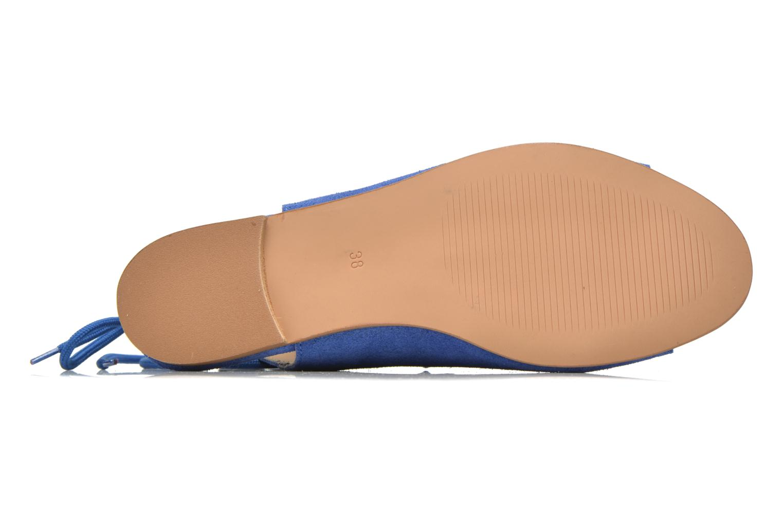 Sandales et nu-pieds Georgia Rose Gilize Bleu vue haut