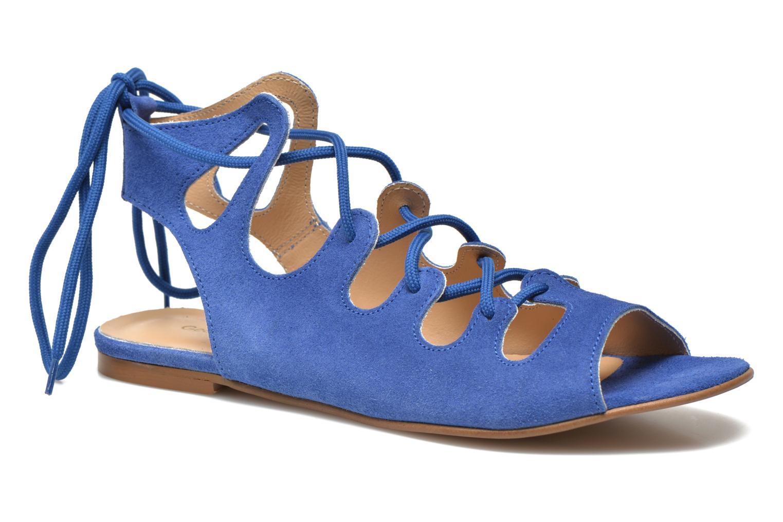 Sandales et nu-pieds Georgia Rose Gilize Bleu vue détail/paire