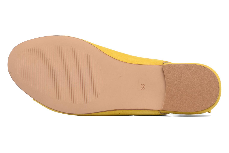 Sandalen Georgia Rose Gilize gelb ansicht von oben