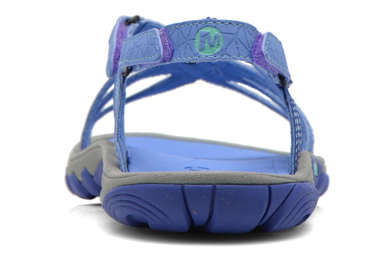 Zapatillas de deporte Merrell Enoki Link Azul vista lateral derecha