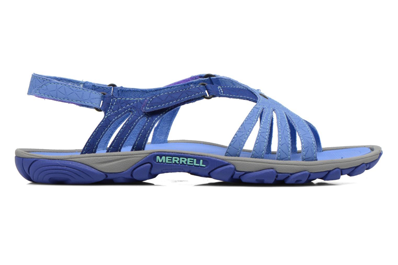 Sportschuhe Merrell Enoki Link blau ansicht von hinten