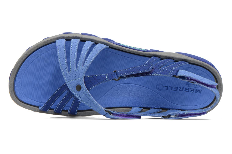 Zapatillas de deporte Merrell Enoki Link Azul vista lateral izquierda