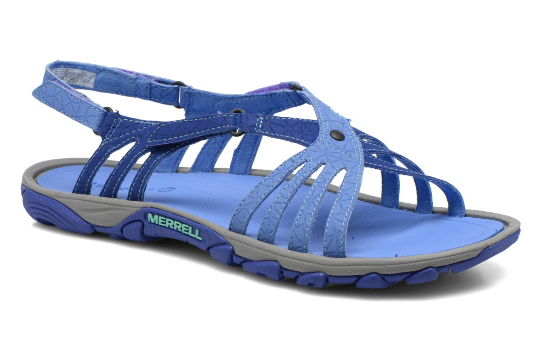 Sportschuhe Merrell Enoki Link blau detaillierte ansicht/modell