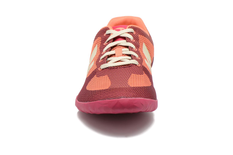 Baskets Merrell Civet Rouge vue portées chaussures