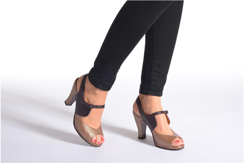 Sandales et nu-pieds Chie Mihara Fossi Multicolore vue bas / vue portée sac