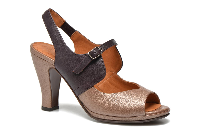 Sandales et nu-pieds Chie Mihara Fossi Multicolore vue détail/paire