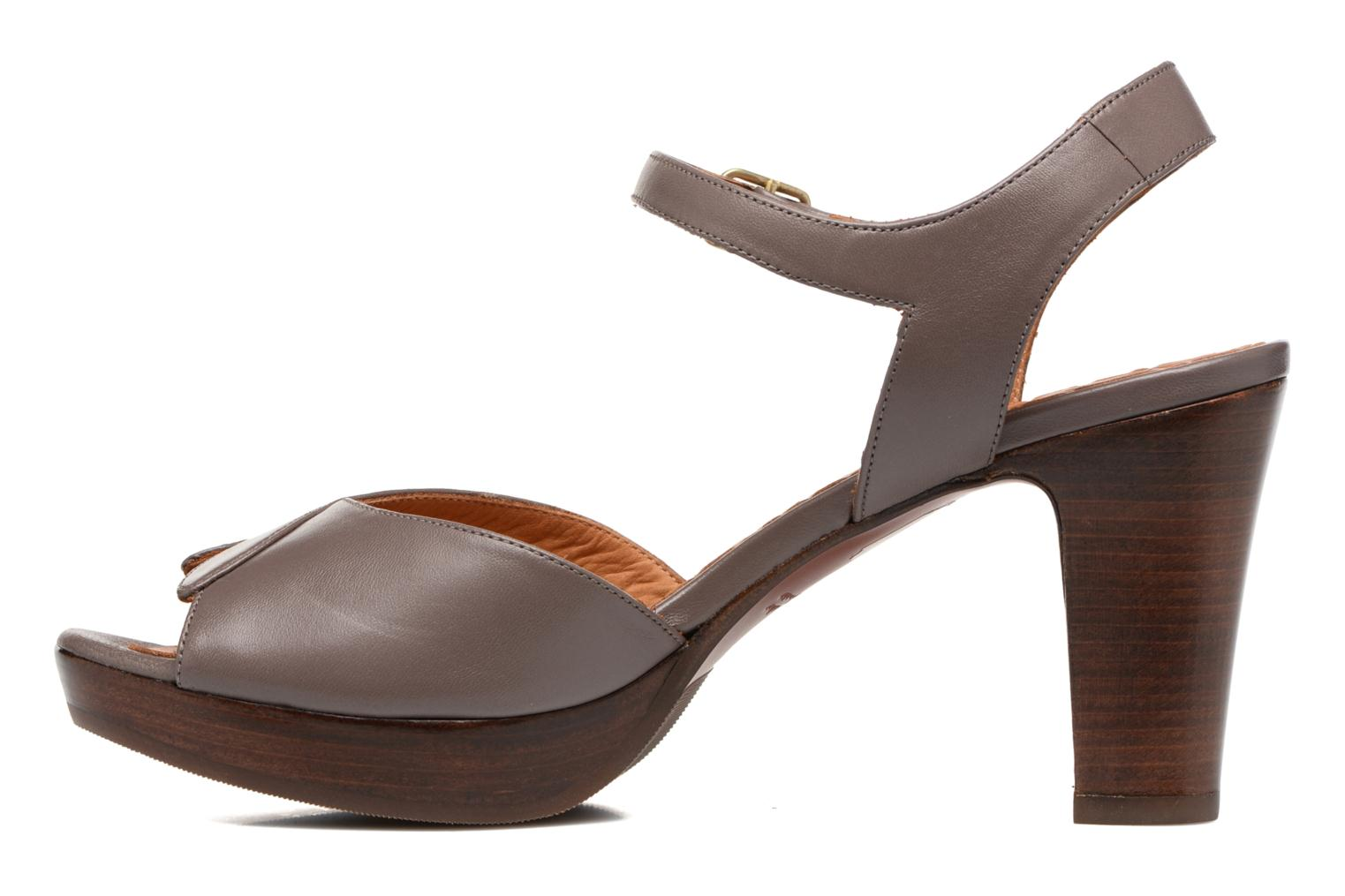 Sandals Chie Mihara Jantra Brown front view
