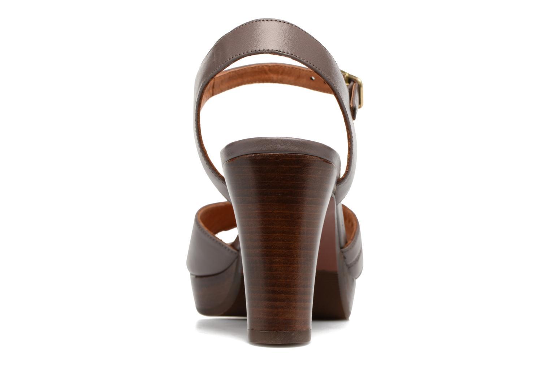 Sandales et nu-pieds Chie Mihara Jantra Marron vue droite