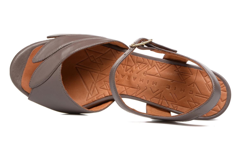 Sandales et nu-pieds Chie Mihara Jantra Marron vue gauche
