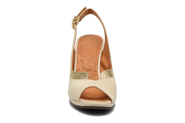 Sandalen Chie Mihara Franca gold/bronze schuhe getragen