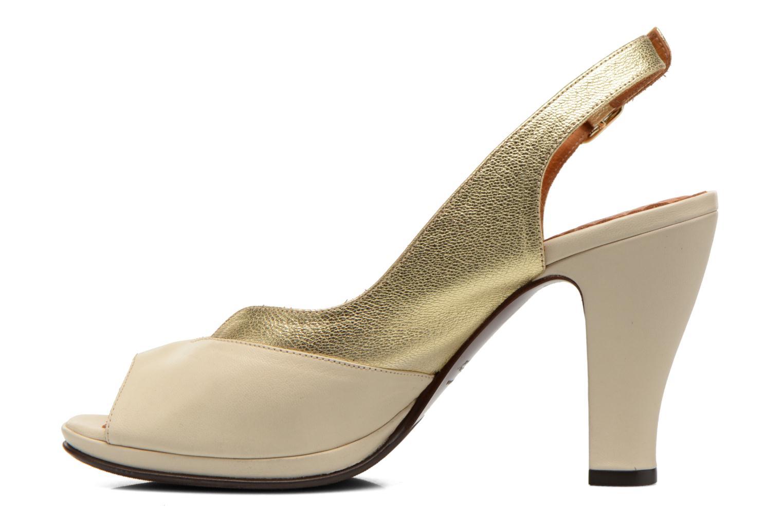 Sandalen Chie Mihara Franca gold/bronze ansicht von vorne
