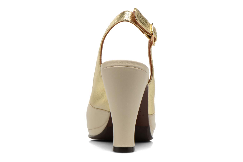 Sandalen Chie Mihara Franca gold/bronze ansicht von rechts