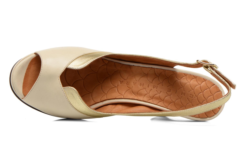 Sandalen Chie Mihara Franca gold/bronze ansicht von links