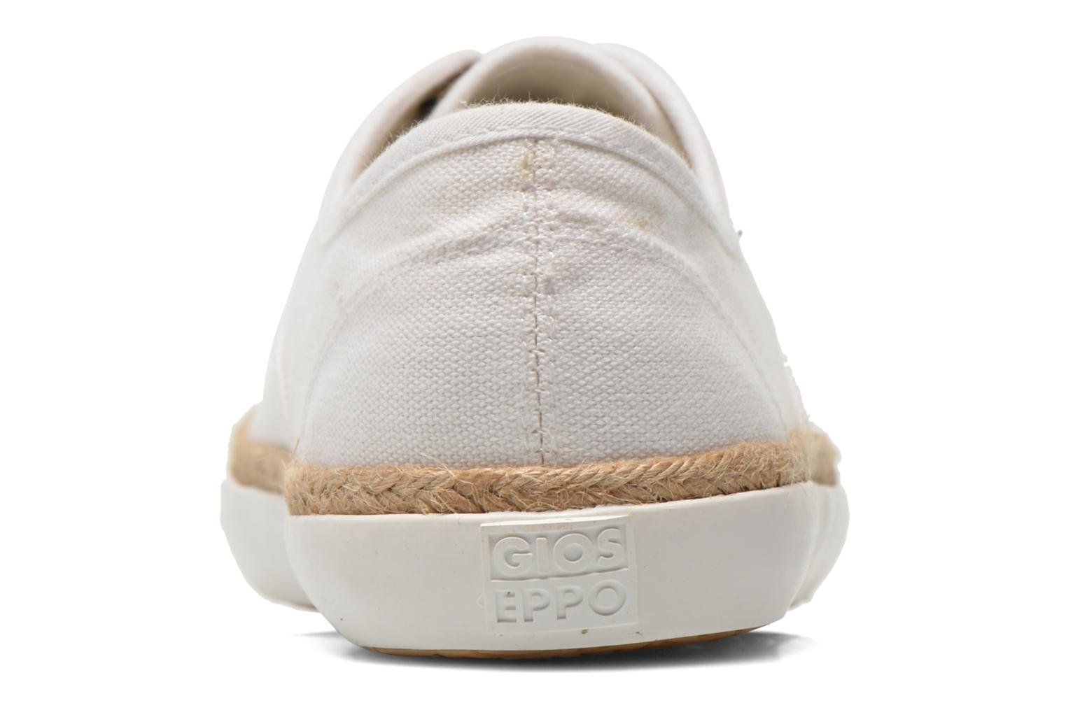 Trainers Gioseppo Mima White view from the right
