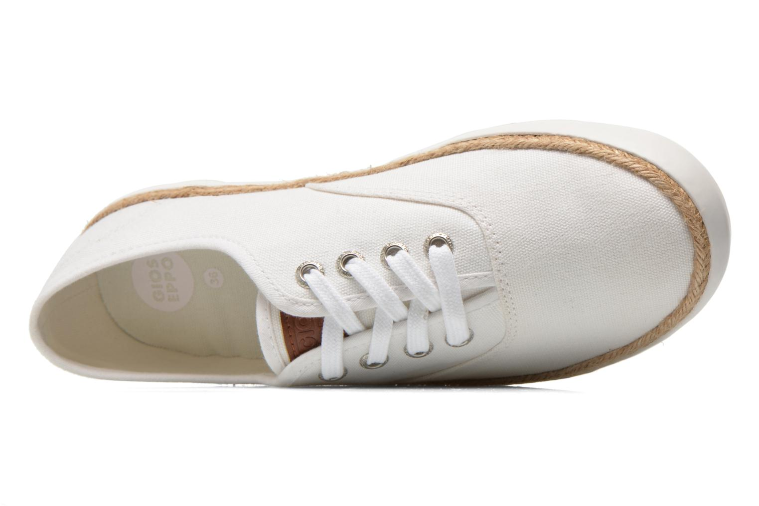 Trainers Gioseppo Mima White view from the left