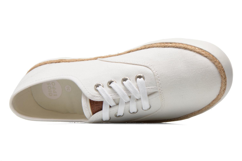 Baskets Gioseppo Mima Blanc vue gauche