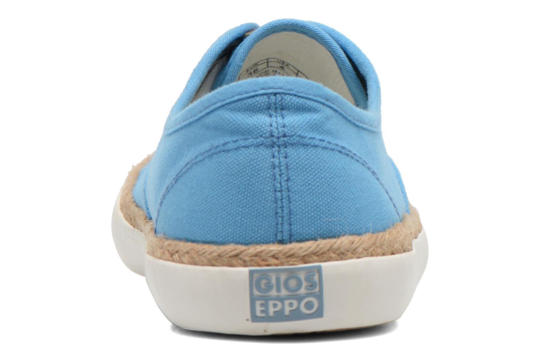 Baskets Gioseppo Mima Bleu vue droite