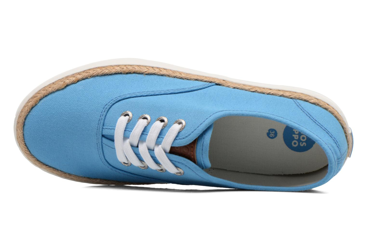Trainers Gioseppo Mima Blue view from the left
