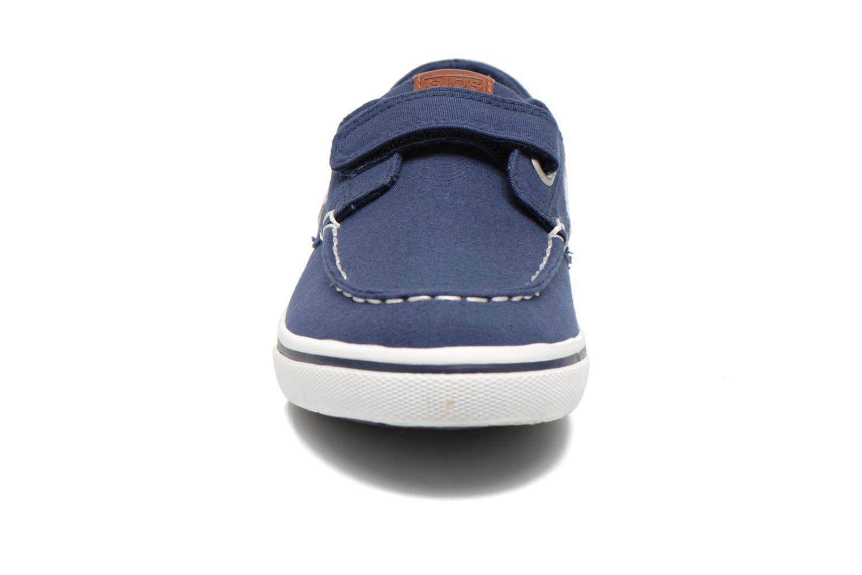 Zapatos con velcro Gioseppo Goliat Azul vista del modelo
