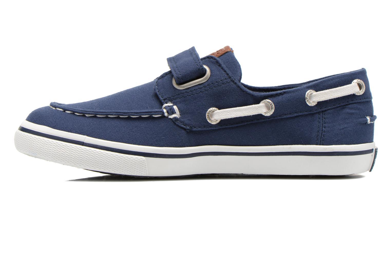 Zapatos con velcro Gioseppo Goliat Azul vista de frente