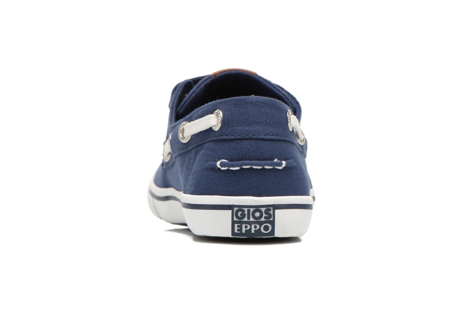 Velcro shoes Gioseppo Goliat Blue view from the right